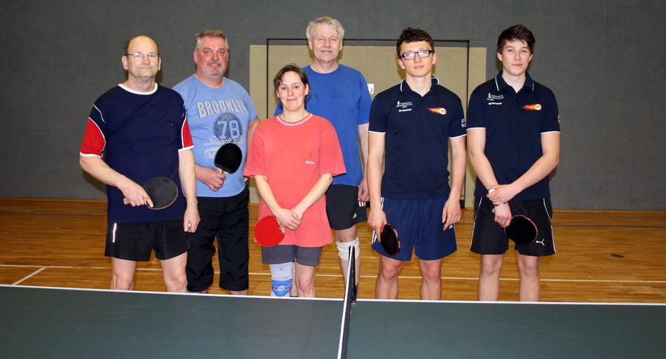 Dritte Mannschaft Tischtennis