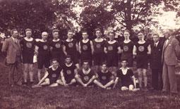 Sektion Leichtathletik um 1924